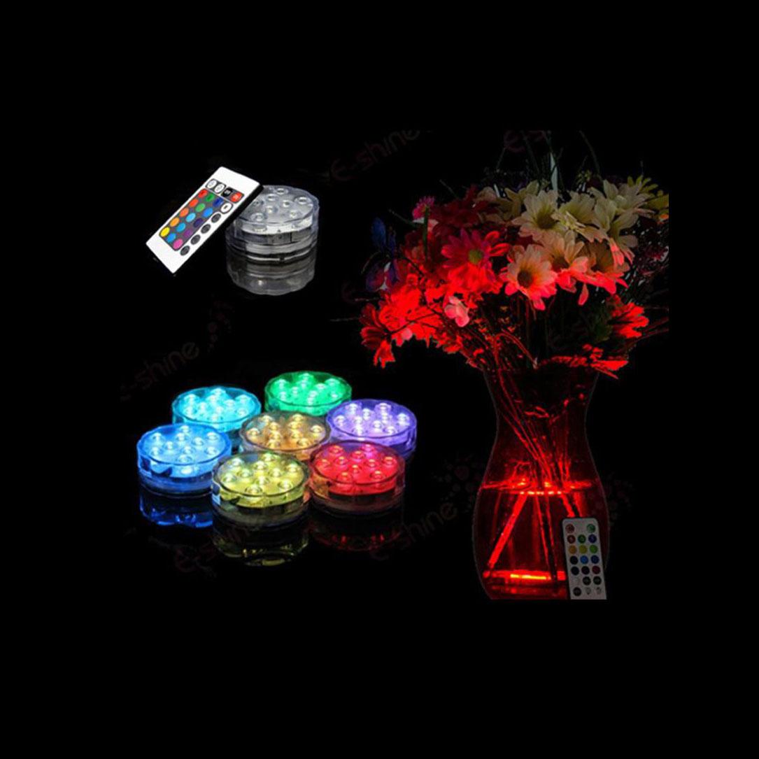 Underbar Köp RGB LED lampa med fjärrkontroll vattentät. Belysning WB-85