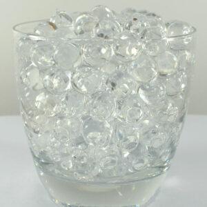 4000 förp Vatten kristaller 0,8-1 cm Transparent