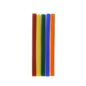 10 st/förp Färgat Limstift för elektrisk limpistol mini 20W