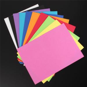 14st / förp självhäftande tunn skum papper A4 14 färger