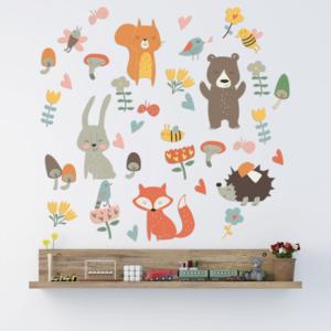 Djur och växter vinyl vägg klistermärken
