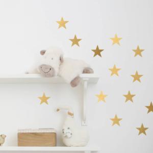 64 stjärnor vinyl vägg klistermärken