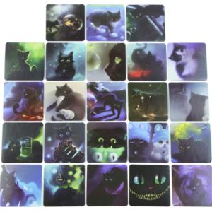 46 Söt katt klistermärken