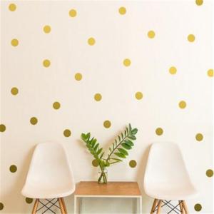 126 polka prickar vinyl vägg klistermärken 14 färger
