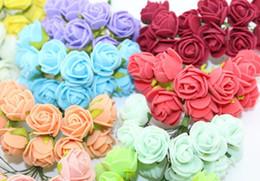36 st Rosor mini dekoration bukett